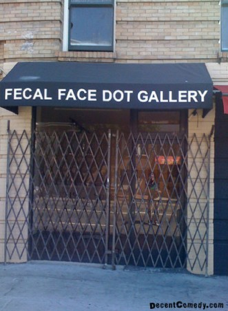 Fecal Face Dot Gallery
