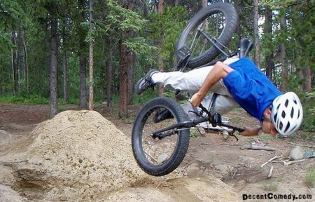 Cute Baby Picture Poses on If This Awesome Mountain Bike Crash Is Anything To Go By This Guy Is