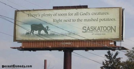 Only in Canada can you get away with a billboard like this