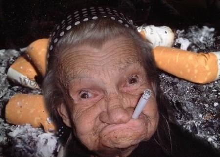 Grandma Loves Cigarette