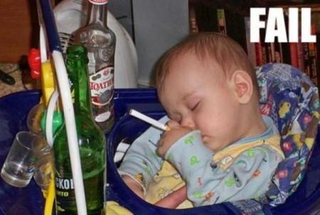 Kid in Hangover