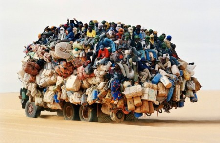 Lorry Full of People