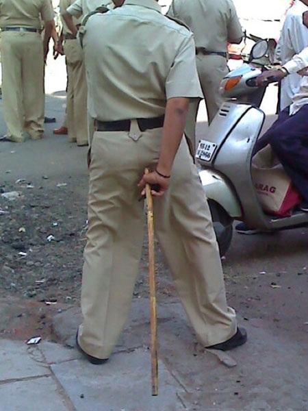 Police in India